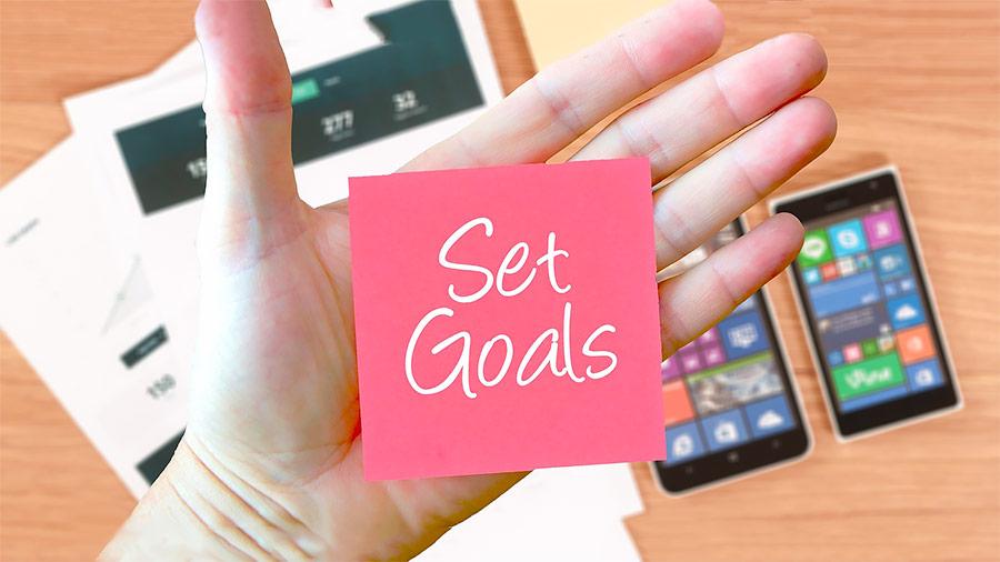 Raggiungere un obiettivo