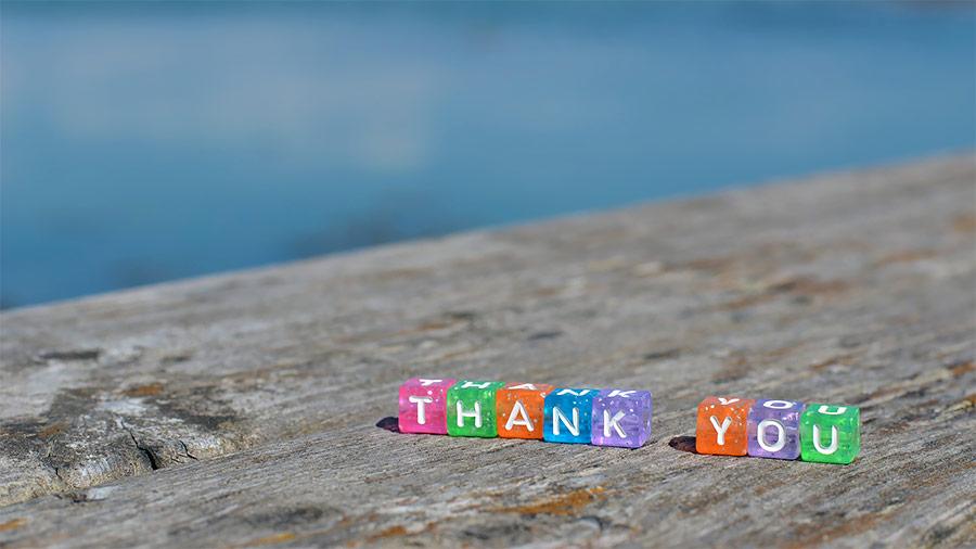 Esprimere gratitudine per vivere gioiosamente